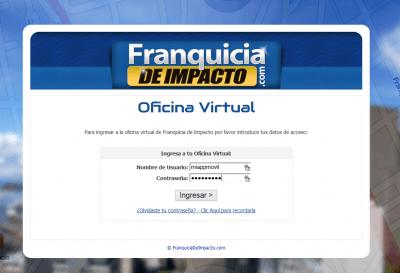oficina virtual franquicia de impacto